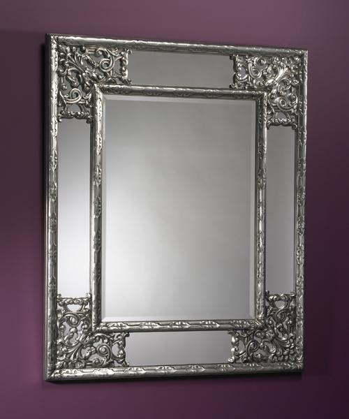 Deknudt Angelo Silver Wall Art And Mirrors Interiors